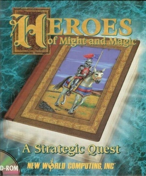 Cover for Heroes of Might and Magic: A Strategic Quest.