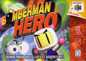 Cover for Bomberman Hero.