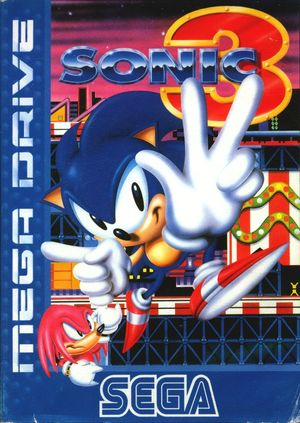 Cover for Sonic the Hedgehog 3.