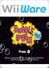 Cover for Bubble Bobble Plus!.
