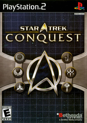 Cover for Star Trek: Conquest.