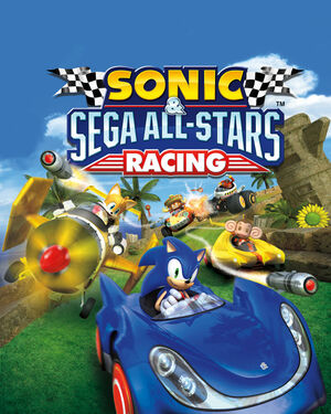 Cover for Sonic & Sega All-Stars Racing.