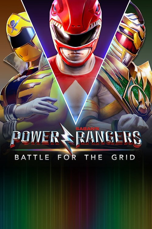 Cover for Power Rangers: Battle for the Grid.