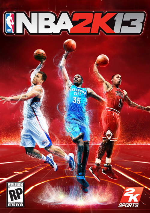 Cover for NBA 2K13.