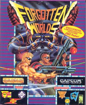 Cover for Forgotten Worlds.