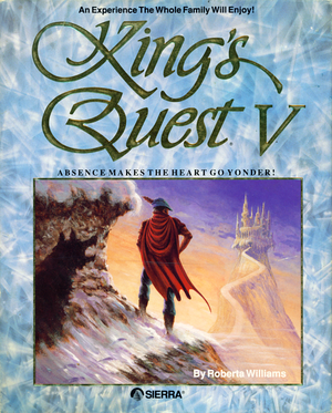 Cover for King's Quest V: Absence Makes the Heart Go Yonder!.