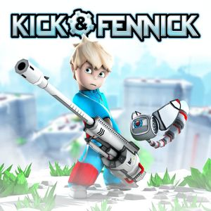Cover for Kick & Fennick.