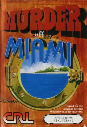 Cover for Murder off Miami.