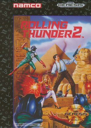 Cover for Rolling Thunder 2.