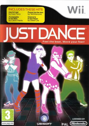 Cover for Just Dance.