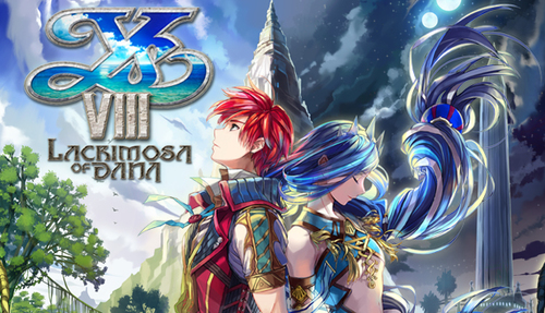 Cover for Ys VIII: Lacrimosa of Dana.