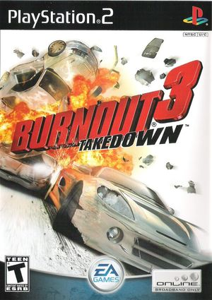 Cover for Burnout 3: Takedown.