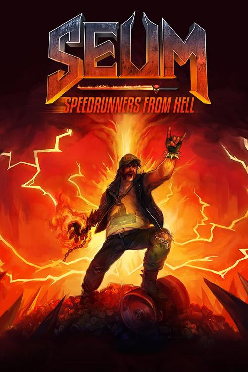 Cover for Seum: Speedrunners from Hell.