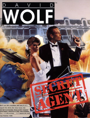 Cover for David Wolf: Secret Agent.