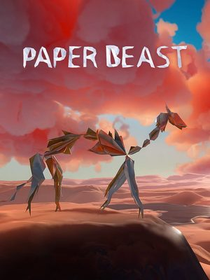 Cover for Paper Beast.