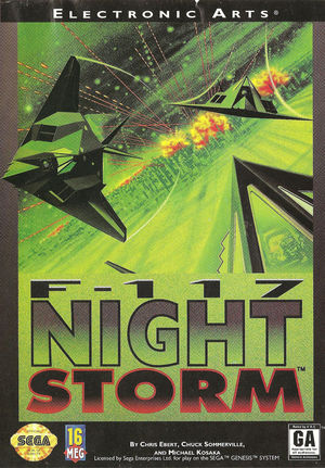 Cover for F-117 Night Storm.