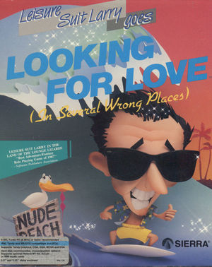 Cover for Leisure Suit Larry Goes Looking for Love (in Several Wrong Places).