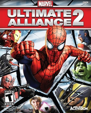 Cover for Marvel: Ultimate Alliance 2.