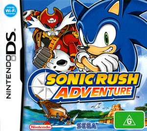 Cover for Sonic Rush Adventure.