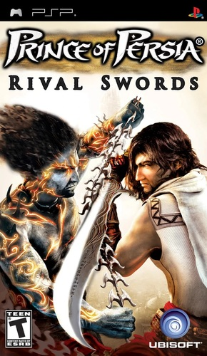 Cover for Prince of Persia: Rival Swords.