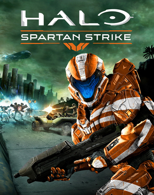Cover for Halo: Spartan Strike.