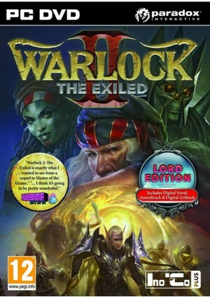 Cover for Warlock II: The Exiled.