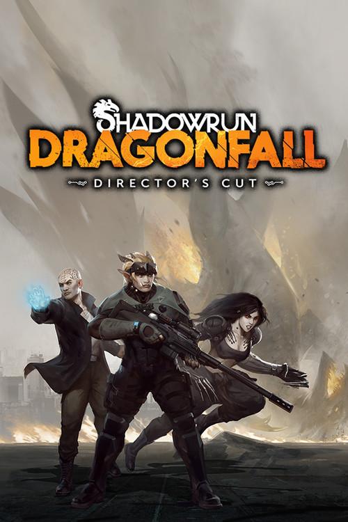Cover for Shadowrun: Dragonfall - Director's Cut.