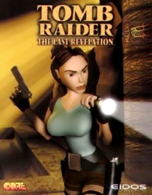 Cover for Tomb Raider: The Last Revelation.