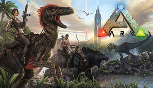Cover for Ark: Survival Evolved.