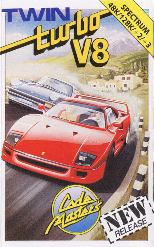 Cover for Twin Turbo V8.