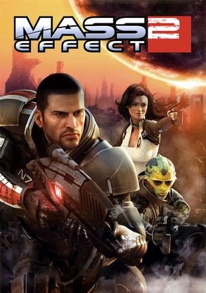 Cover for Mass Effect 2.