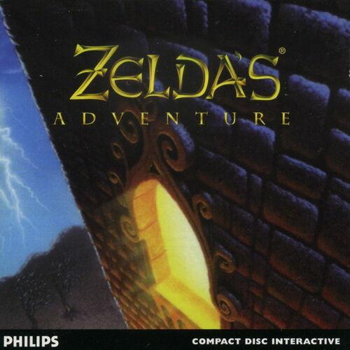 Cover for Zelda's Adventure.