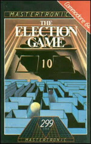 Cover for The Election Game.