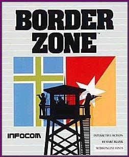 Cover for Border Zone.