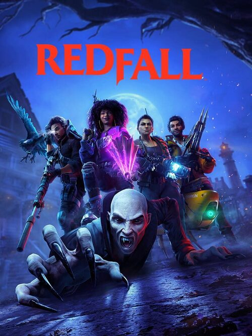 Cover for Redfall.