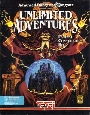 Cover for Forgotten Realms: Unlimited Adventures.