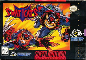 Cover for SWAT Kats: The Radical Squadron.