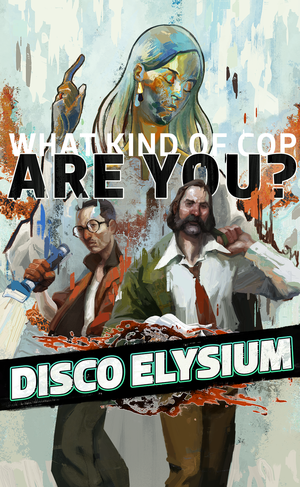 Cover for Disco Elysium.