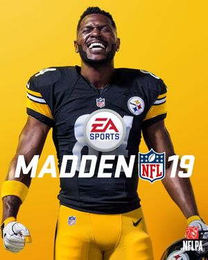 Cover for Madden NFL 19.