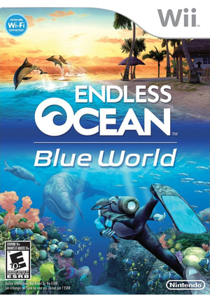 Cover for Endless Ocean 2: Adventures of the Deep.
