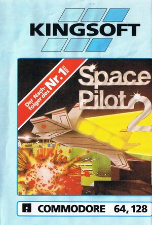 Cover for Space Pilot 2.