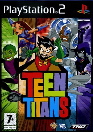 Cover for Teen Titans.