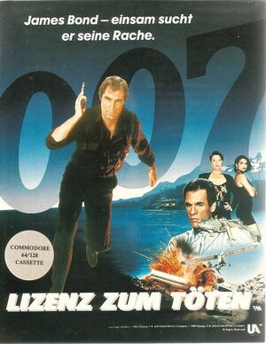 Cover for 007: Licence to Kill.