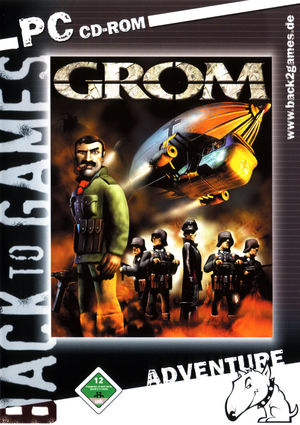 Cover for Grom.