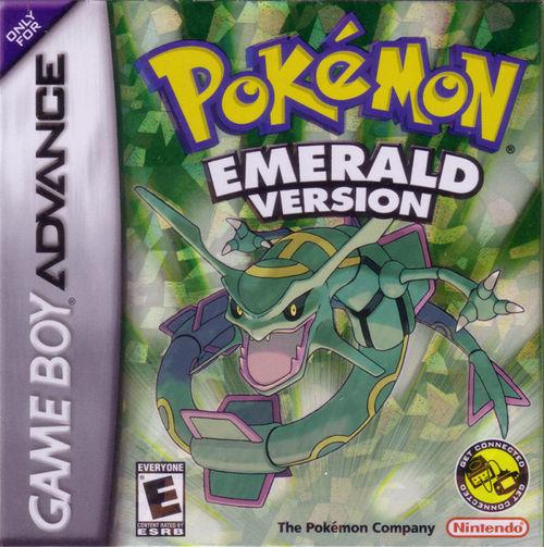 Cover for Pokémon Emerald.