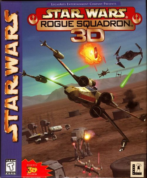Cover for Star Wars: Rogue Squadron.