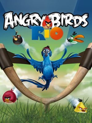 Cover for Angry Birds Rio.