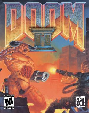 Cover for Doom II.