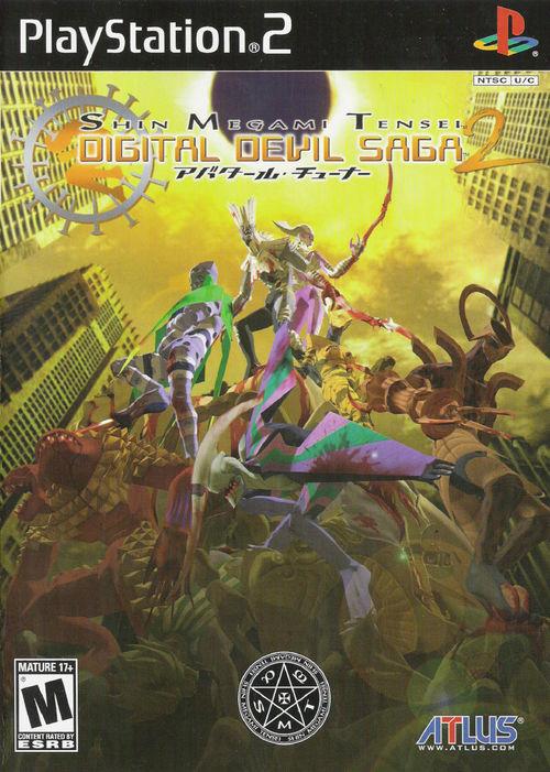 Cover for Shin Megami Tensei: Digital Devil Saga 2.
