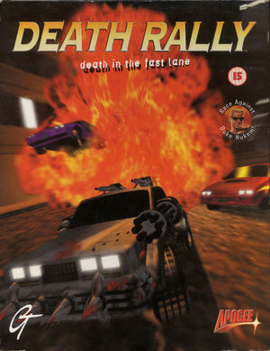 Cover for Death Rally.